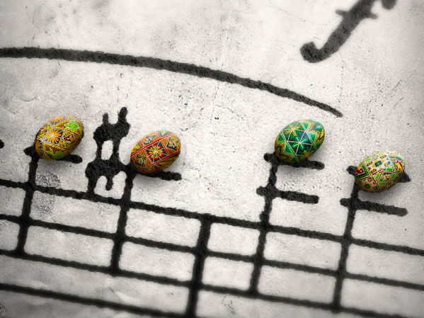 Musical Easter Eggs