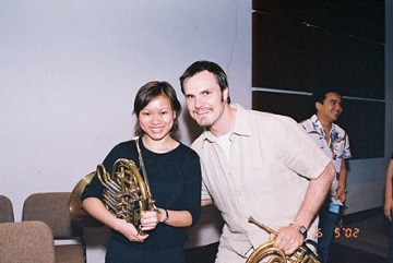Reference2MissCarolWithHornistOfCanadianBrass